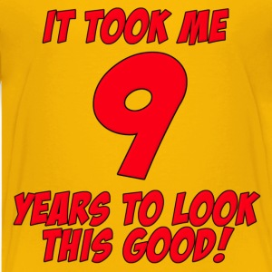 9 Years Birthday To Look This Good Kids' Shirts - Kids' Premium T-Shirt
