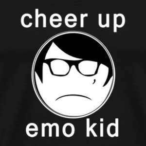 Cheer Up Emo Kid - Men's Premium T-Shirt
