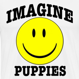 Imagine Puppies T-Shirts - Men's Premium T-Shirt