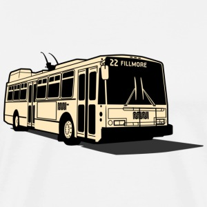 22 Fillmore Muni Bus T-shirt - Men's Premium T-Shirt