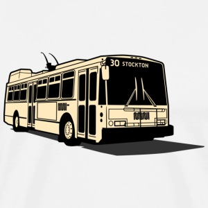 30 Stockton Muni Bus T-shirt - Men's Premium T-Shirt
