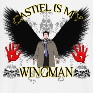 Castiel is my wingman T-Shirts - Men's Premium T-Shirt