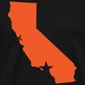 Los Angeles Star T-shirt - Men's Premium T-Shirt