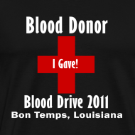 Design ~ Men's Blood Donor 2011 - Black