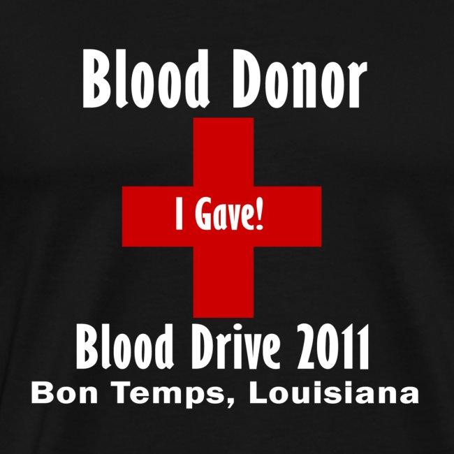 Men's Blood Donor 2011 - Black