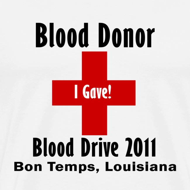 Men's Blood Donor 2011