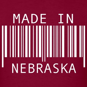 Made in Nebraska T-Shirts - Men's T-Shirt