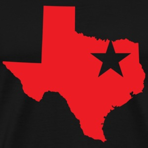 Dallas Texas Star T-shirt - Men's Premium T-Shirt