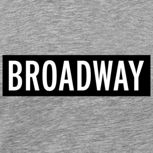 Broadway New York T-shirt - Men's Premium T-Shirt