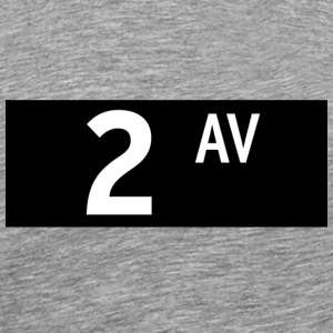 2nd Avenue New York City T-shirt - Men's Premium T-Shirt