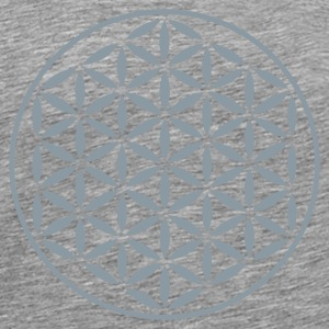 FLOWER OF LIFE - vector stamp | men's 3XL shirt - Men's Premium T-Shirt