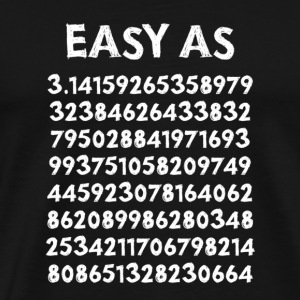 Easy as Pie T-shirt - Men's Premium T-Shirt