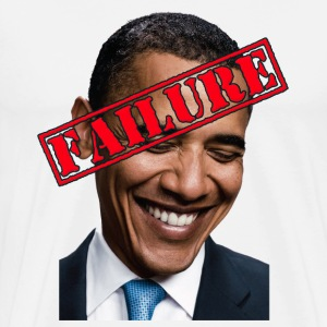 Anti Obama Failure T-Shirts - Men's Premium T-Shirt