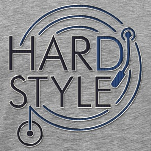 HARDSTYLE DJ - metal look | men's heavyweight shirt - Men's Premium T-Shirt