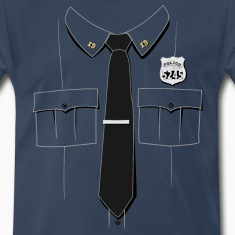 Police Officer Uniform T-shirt