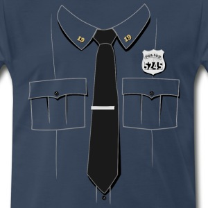 Police Officer Uniform T-shirt - Men's Premium T-Shirt