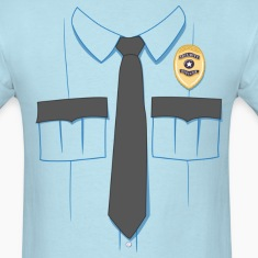 Security Guard Uniform T-shirt