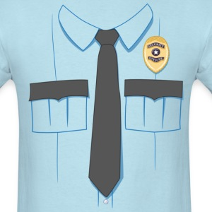 Security Guard Uniform T-shirt - Men's T-Shirt