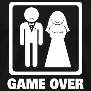 Game Over T-Shirts - Men's Premium T-Shirt
