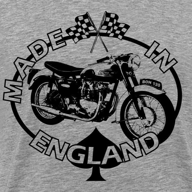 Made in Engalnd Bonneville T120