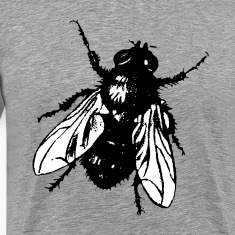 "3XL T-Shirt ""The Fly"""