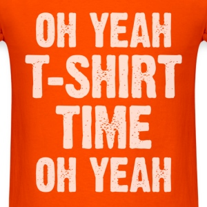 T-Shirt Time T-Shirts - Men's T-Shirt