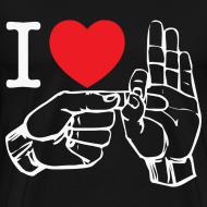 Design ~ i love fucking T-Shirt (black)