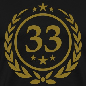 Birthday 33 T-Shirts - Men's Premium T-Shirt