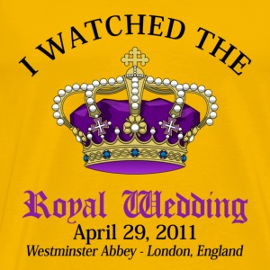 Royal Wedding T-Shirts - Men's Premium T-Shirt