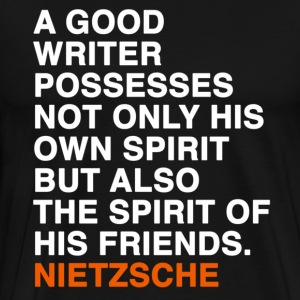 nietzsche quote T-Shirts - Men's Premium T-Shirt