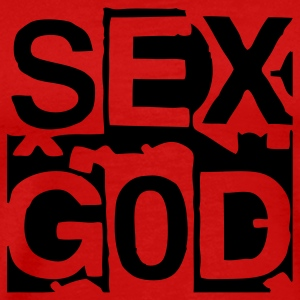 sex_god T-Shirts - Men's Premium T-Shirt