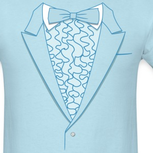 Fake Deluxe Tuxedo Blue - Men's T-Shirt