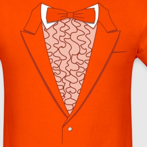 Fake Deluxe Tuxedo Orange - Men's T-Shirt