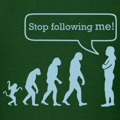 Evolution stop following me