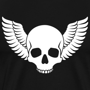 Skull Wings T-Shirts - Men's Premium T-Shirt
