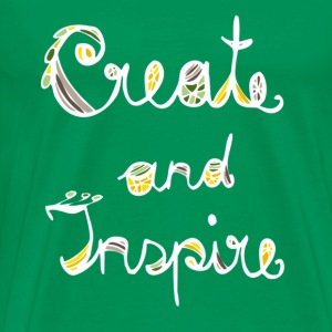 Create and Inspire - Men's Premium T-Shirt