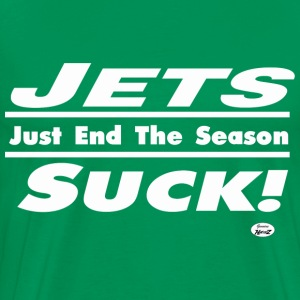 jets suck T-Shirts - Men's Premium T-Shirt