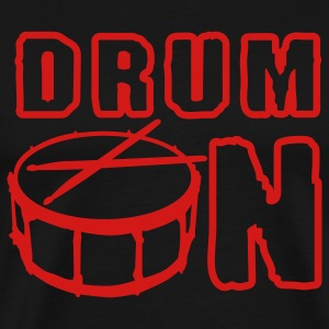 drum_on_a_1c T-Shirts - Men's Premium T-Shirt