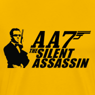 Design ~ Silent Assassin T-Shirt (Men's)