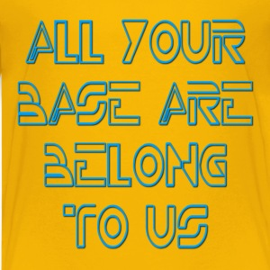 All Your Base Are Belong To Us Kids' Shirts - Kids' Premium T-Shirt