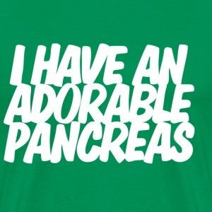I have an adorable pancreas T-shirt - Men's Premium T-Shirt
