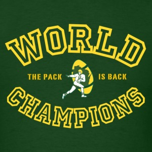 Green Bay Packers World Champions green - Men's T-Shirt