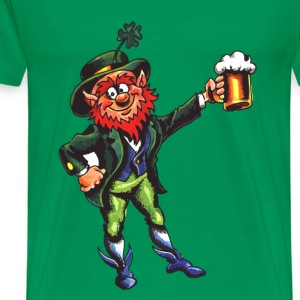 Leprechaun Cheers - Men's Premium T-Shirt