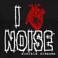 Design ~ Audible Disease - I Heart Noise Black