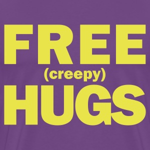 FREE (creepy) HUGS - Men's Premium T-Shirt