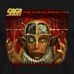 Saga Human Condition Album T - Men's Premium T-Shirt