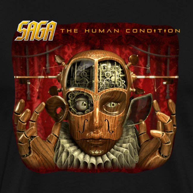 Saga Human Condition Album T - 2 sided