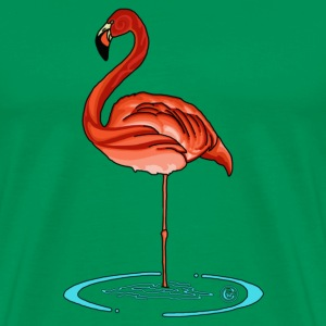 Barbz Flamingo T-Shirts - Men's Premium T-Shirt