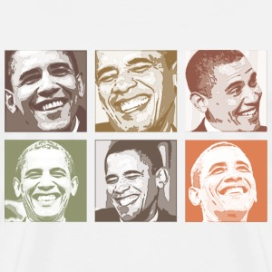 Obama Smiles - Men's Premium T-Shirt