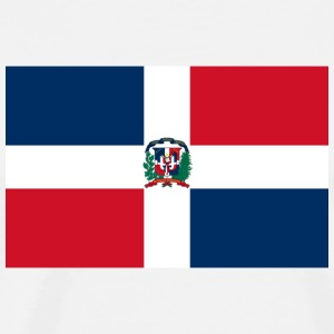 Flag Dominicanrepublic (dd) T-Shirts - Men's Premium T-Shirt